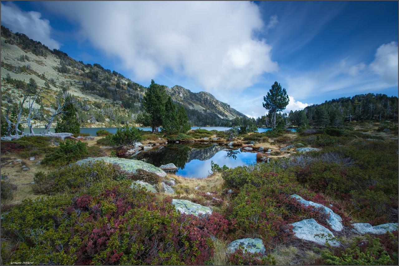 Couleurs d'automne au lac Aumar