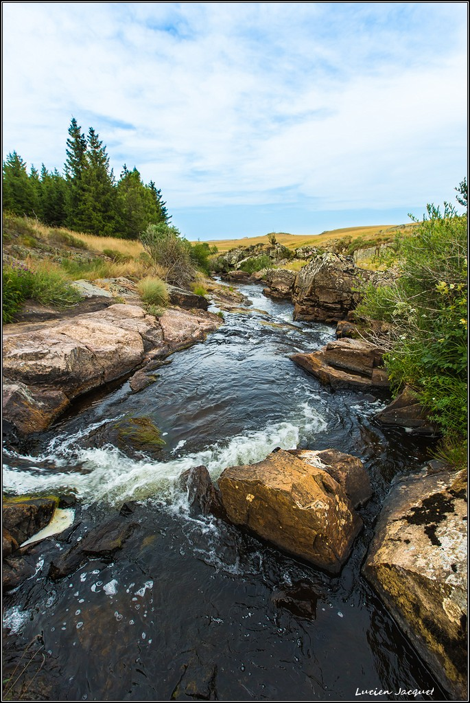 Ruisseau des Plesches Aubrac.