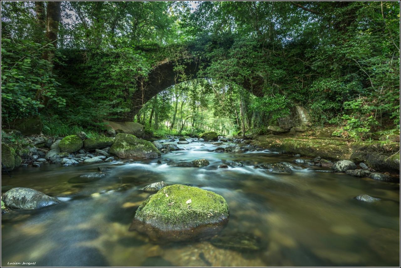 Sous le vieux pont, Doulou, Cantarone, Lozère