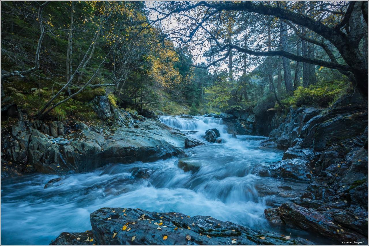 Cascades sur le Rioumajoux