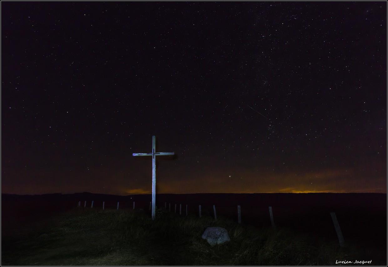 Minuit sur le plateau de l'Aubrac