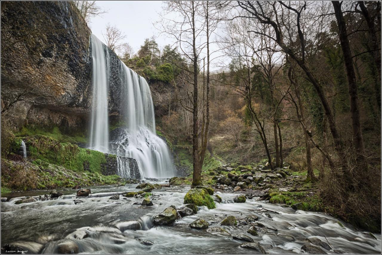 Cascade de La Beaume.