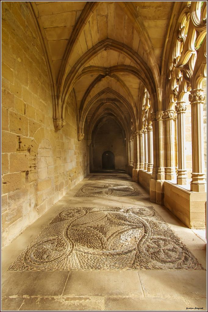 Monastorio de la Oliva Navarre (détails mosaiques)