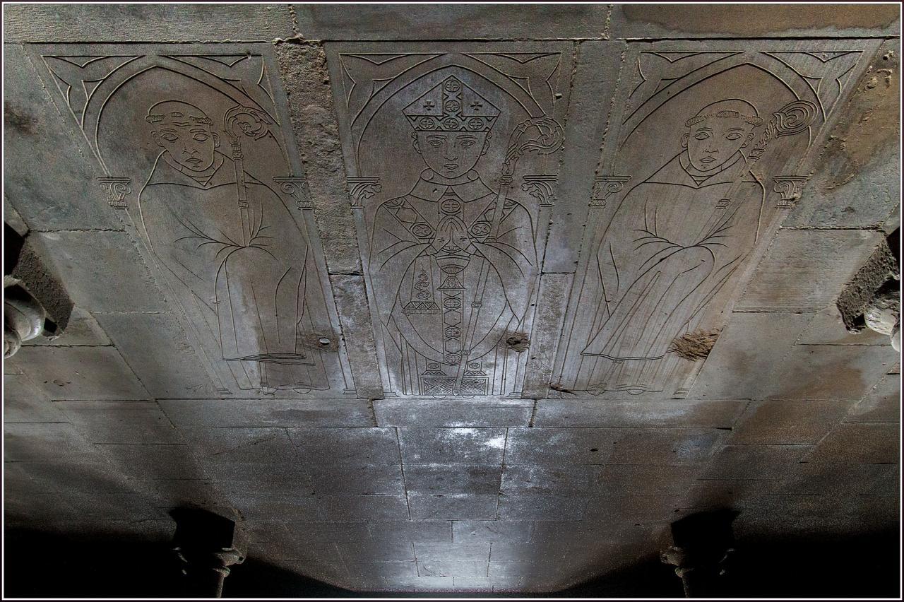 Monastorio de la Oliva Navarre (pierres tombales)