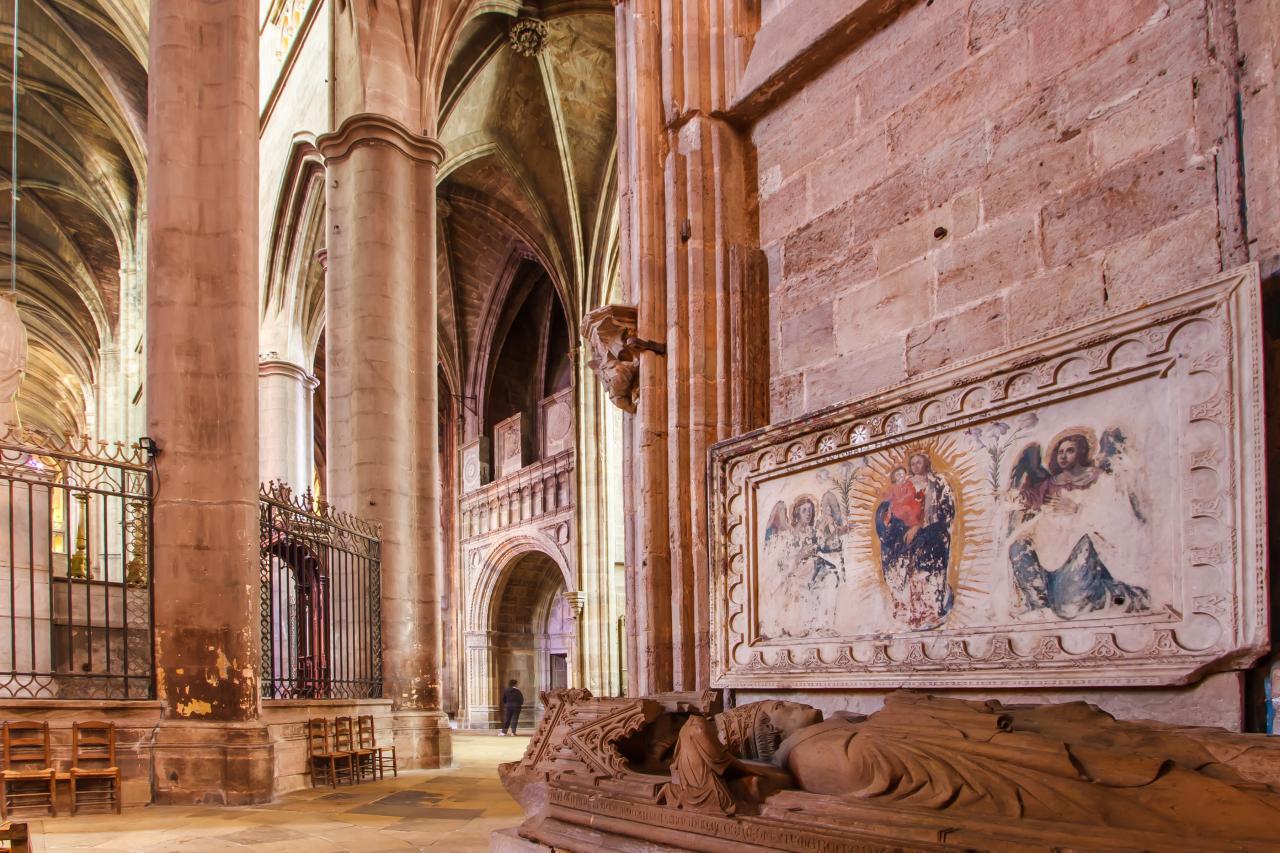 Gisant cathédrale Rodez