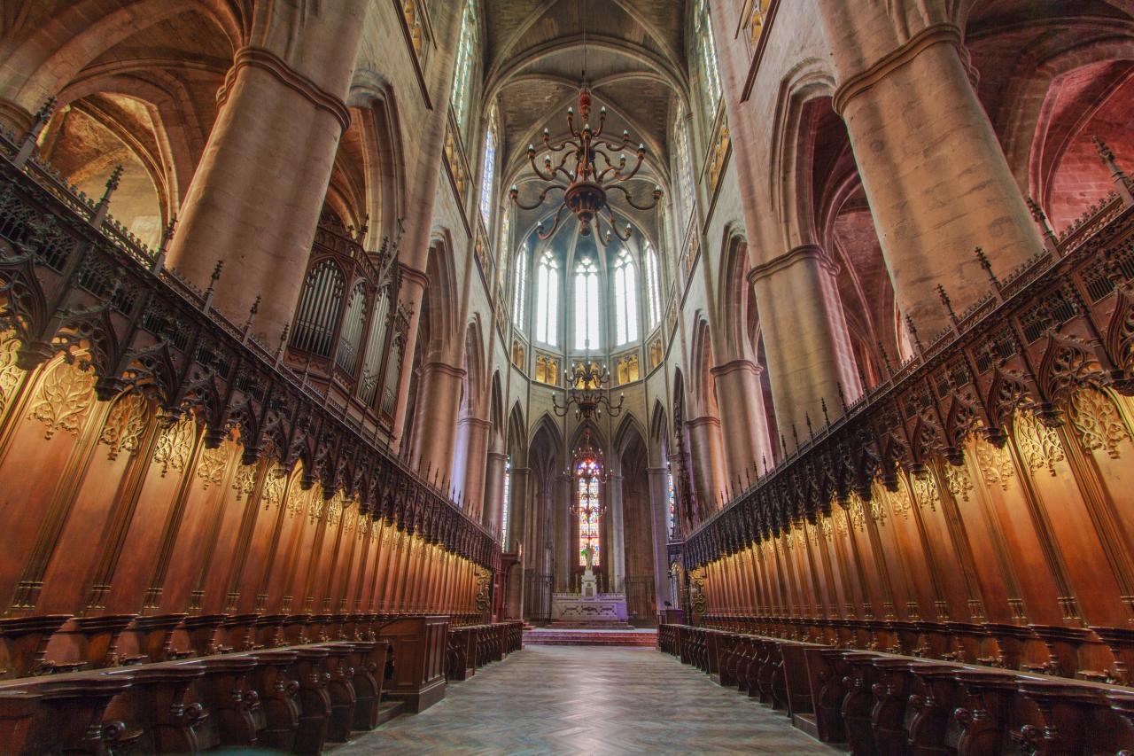 Stalles cathédrale Rodez