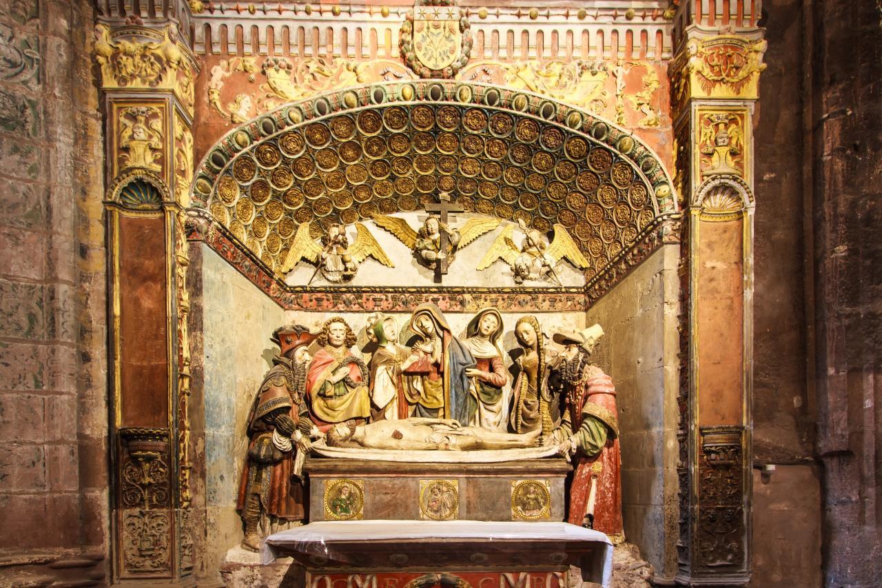 Mise au tombeau Rodez