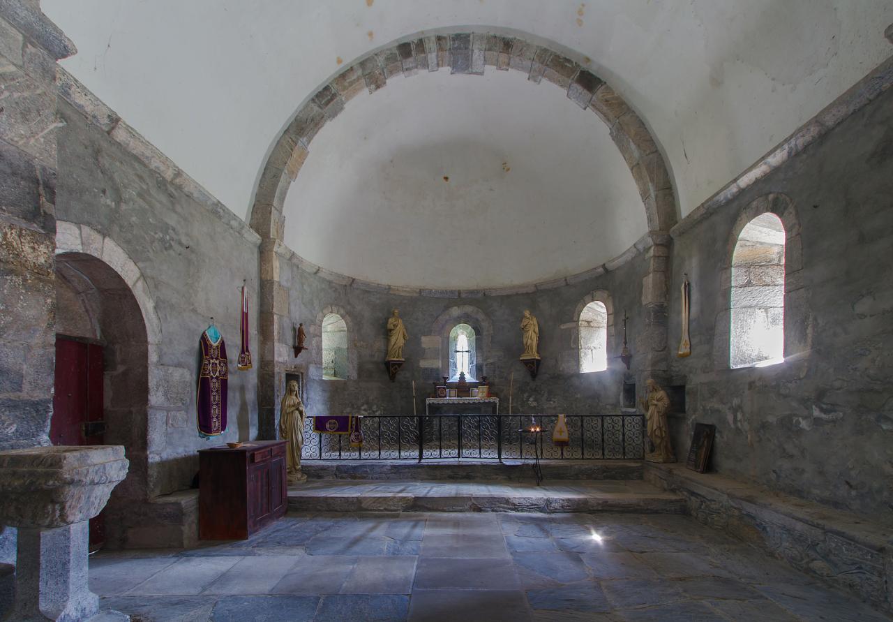 Chapelle templière Agos